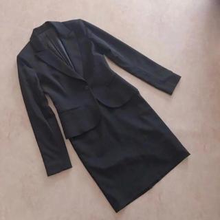 【上下セット】ベーシック ブラック 就活 スーツ(スーツ)