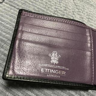 エッティンガー(ETTINGER)のETTINGER(折り財布)