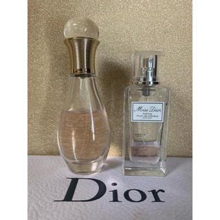 ディオール(Dior)のみあ様専用 2つセット ディオールジャドールヘアミスト ミスディオール(ヘアウォーター/ヘアミスト)