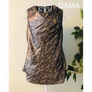 ディノス(dinos)のDAMA コレクションのトップス絹混 美品(その他)