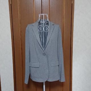 ユニクロ(UNIQLO)のUNIQLO ジャージージャケット【超美品】(テーラードジャケット)