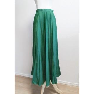 アナイ(ANAYI)のANAYI 2019ss リネンロングプリーツスカート(ロングスカート)