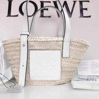 LOEWE - LOEWE ロエベ バスケット かご スモール ホワイト