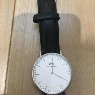 ダニエルウェリントン(Daniel Wellington)のダニエルウィリントン 腕時計 電池切れ(腕時計(アナログ))