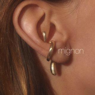 HYKE - nude ear cuff 《gold》