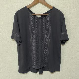 スタディオクリップ(STUDIO CLIP)の【studio CLIP】刺繍カットソー(Tシャツ(半袖/袖なし))