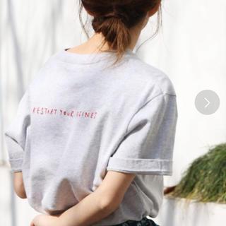 Ungrid - ungrid アングリッド Tシャツ 半袖