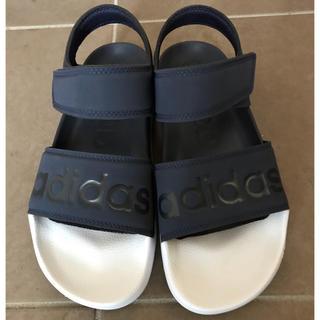 adidas - アディダス アディレッタ ネイビー&ホワイト