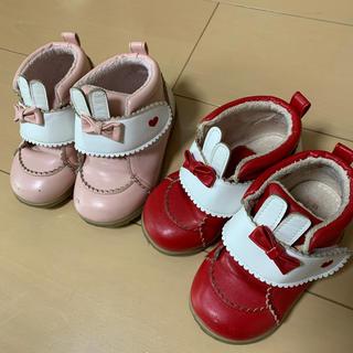 シャーリーテンプル(Shirley Temple)の靴 2色セット(スニーカー)