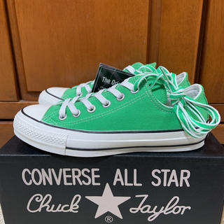 CONVERSE - Converse All Star 100Colors OX グリーン 23.5