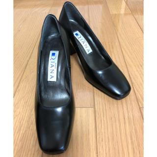 ダイアナ(DIANA)のDIANA パンプス 黒 21cm(ハイヒール/パンプス)