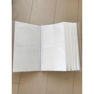 ムジルシリョウヒン(MUJI (無印良品))の無印良品 ポリプロピレン CD・DVDホルダー120枚収納 二冊セット(CD/DVD収納)