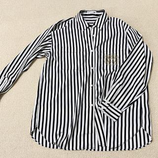 エル(ELLE)のストライプシャツ ヴィンテージ (シャツ/ブラウス(長袖/七分))