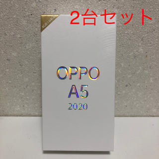 ANDROID - 【新品】OPPO A5 2020 simフリー