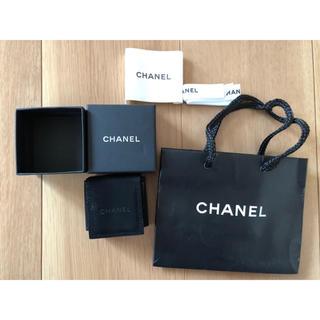 シャネル(CHANEL)のCHANEL シャネル ピアス 空箱ショップ袋(その他)
