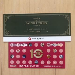 イオン(AEON)の東京ドーム 株主優待(遊園地/テーマパーク)