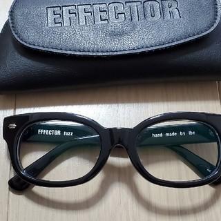 エフェクター(EFFECTOR)のEFFECTOR エフェクターメガネ/ FUZZ ファズ BK 眼鏡 サングラス(サングラス/メガネ)
