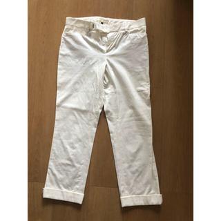 デプレ(DES PRES)の白パンツ(クロップドパンツ)