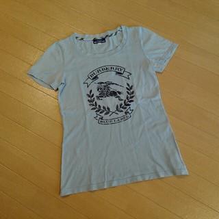 BURBERRY BLUE LABEL - バーバリーブルーレーベル 水色半袖T シャツ38