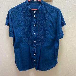MACPHEE - インディゴ染めシャツ
