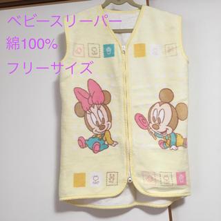 ディズニー(Disney)のベビー ミッキー ミニー スリーパー ベスト 綿100%  送料込み(その他)