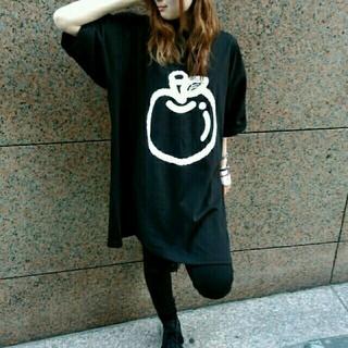 オータ(ohta)の【Apple♪】オーバーサイズりんごビックTシャツ(Tシャツ/カットソー(半袖/袖なし))