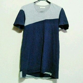 オータ(ohta)の【定番♪】ohta(オオタ) 切り替えTシャツ navy×gray(Tシャツ/カットソー(半袖/袖なし))