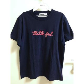 ミルクフェド(MILKFED.)の【美品】MILKFED♡ロゴTシャツ(Tシャツ(半袖/袖なし))