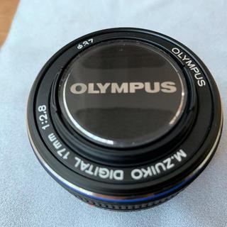 オリンパス(OLYMPUS)のOLYMPUSレンズ M.ZUIKO 17mm f2.8 未使用(レンズ(単焦点))