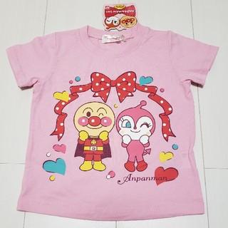 アンパンマン(アンパンマン)の新品タグ付きアンパンマンドキンちゃん半袖Tシャツ90センチ(Tシャツ/カットソー)