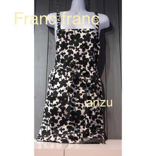 Francfranc - フランフラン  セルマエプロン   ブラック