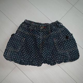 エフオーキッズ(F.O.KIDS)のsize90 デニムバルーンスカート(スカート)