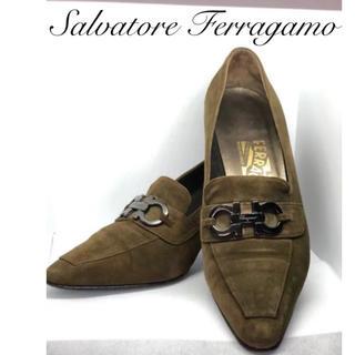 Salvatore Ferragamo - サルヴァトーレ・フェラガモ スエード 靴 レディース パンプス