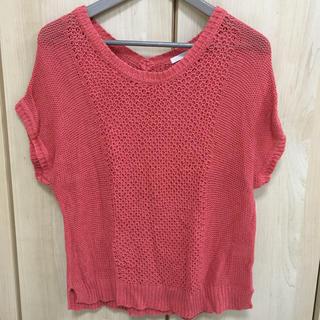 ジーユー(GU)のサマーニット  < GU >(Tシャツ(半袖/袖なし))