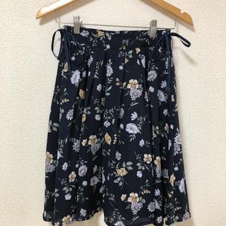 アロー(ARROW)の花柄スカート(ひざ丈スカート)
