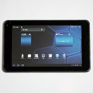 エルジーエレクトロニクス(LG Electronics)の【ジャンク】ドコモ Optimus Pad L-06C マットブラック(タブレット)