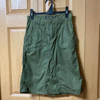 キューブシュガー(CUBE SUGAR)の値下げします❗️CUBE SUGAR カーゴスカート(ひざ丈スカート)