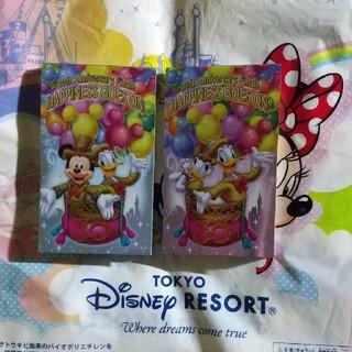 Disney - ディズニーランド⭐️メモ帳⭐️30周年、2冊⭐️