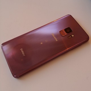 SAMSUNG - 《SIMロック解除済》Galaxy S9 SC-02K(PR) パープル
