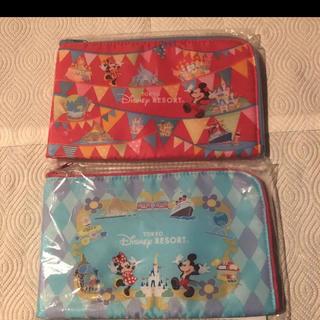 Disney - ディズニー小物入れポーチ2点セット