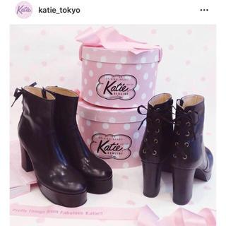 ケイティー(Katie)のkatie ケイティ KRISTEN short boots💓(ブーツ)