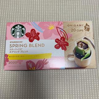 スターバックスコーヒー(Starbucks Coffee)のスターバックス スプリングブレンド 20杯分 ドリップタイプ(コーヒー)