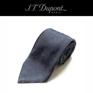 エステーデュポン(S.T. Dupont)の☆【良品】S.T.Dupont ネクタイ イタリア製 スクエア柄(ネクタイ)
