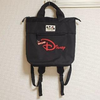 ディズニー(Disney)の値下げ 美品 チームディズニー リュック (リュック/バックパック)