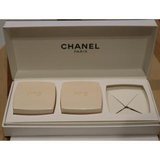 シャネル(CHANEL)のシャネルN5 サヴォン石けん 2コ入(ボディソープ/石鹸)