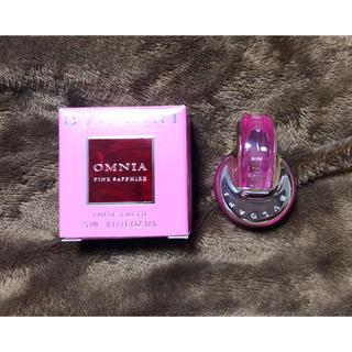 ブルガリ(BVLGARI)のブルガリ BVLGARI 香水 ピンクサファイヤ オードトワレ 5ml(香水(女性用))