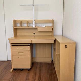 学習机‼️美品❣️新品購入して使用頻度少ないです❗️札幌❗️(学習机)