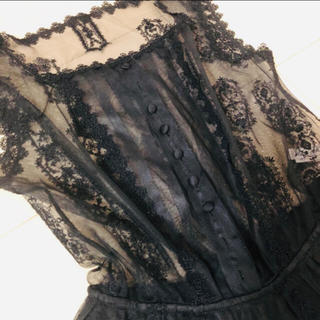 Wacoal - ワコールディア Wacoal dia ブラック ドレス ワンピース
