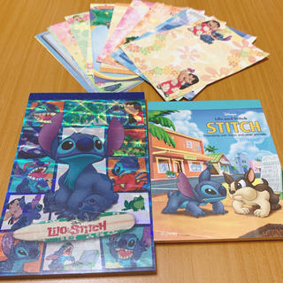 Disney - ディズニー スティッチ メモ帳