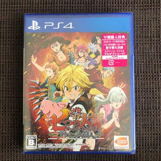 プレイステーション4(PlayStation4)のPS4七つの大罪 ブリタニアの旅人(家庭用ゲームソフト)